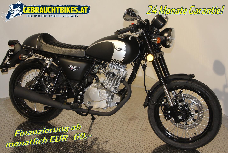 Mash Cafe Racer Motorrad, neu