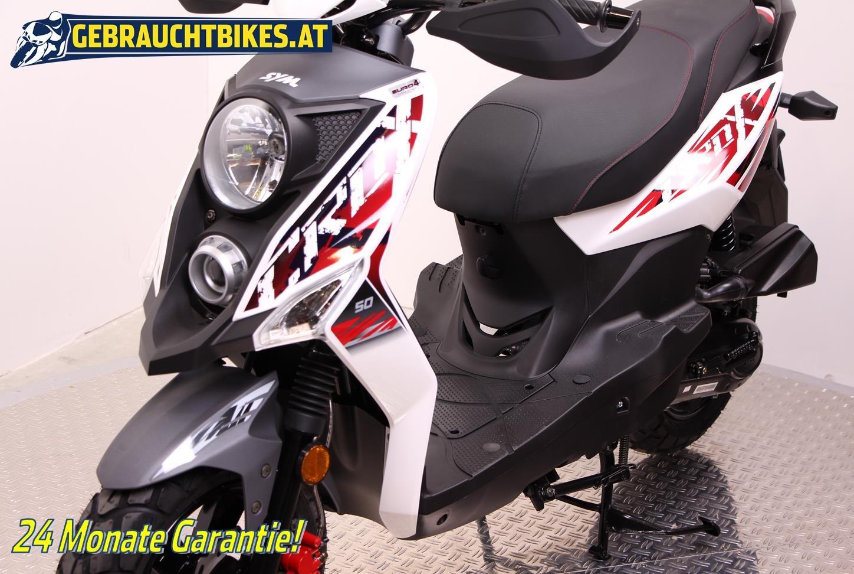 Sym Crox 50 Motorrad, neu