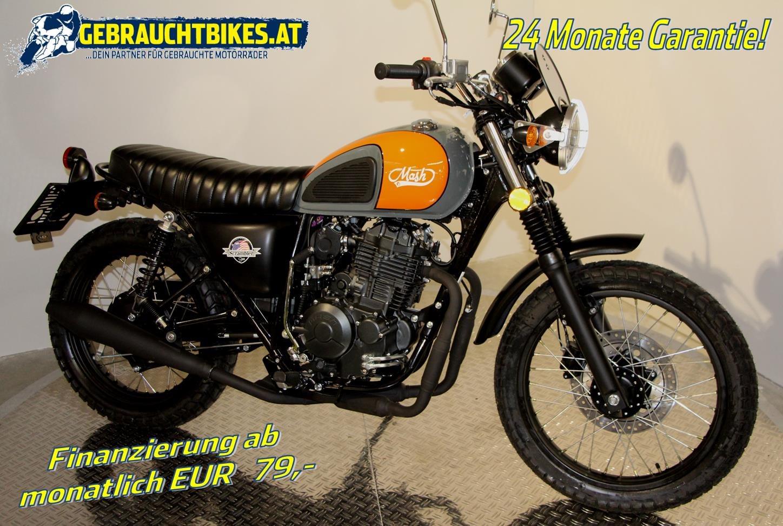 Mash Scrambler 400 Motorrad, neu
