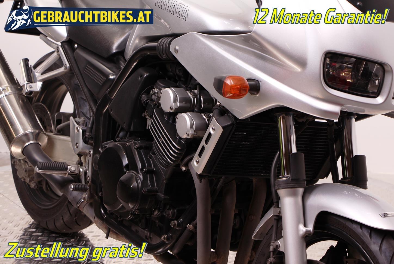 Yamaha FZS 600 Fazer Motorrad, gebraucht