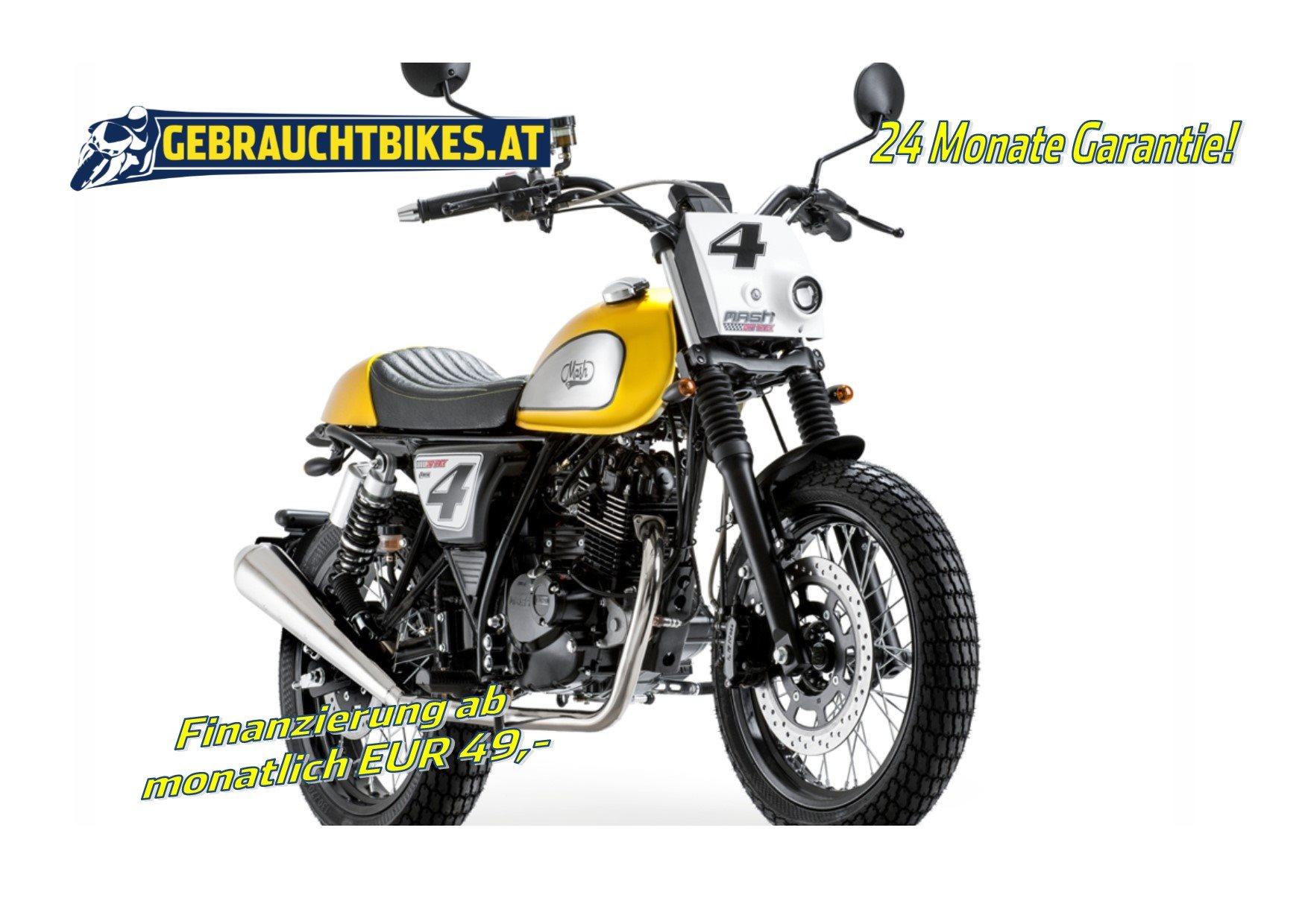 Mash Dirt Track 125 Motorrad, neu