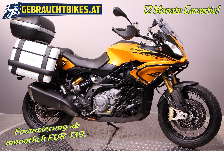 Aprilia Caponord 1200 Rally Motorrad, gebraucht