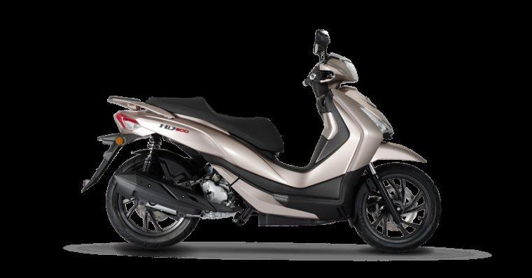 Sym HD 300 Motorrad, neu