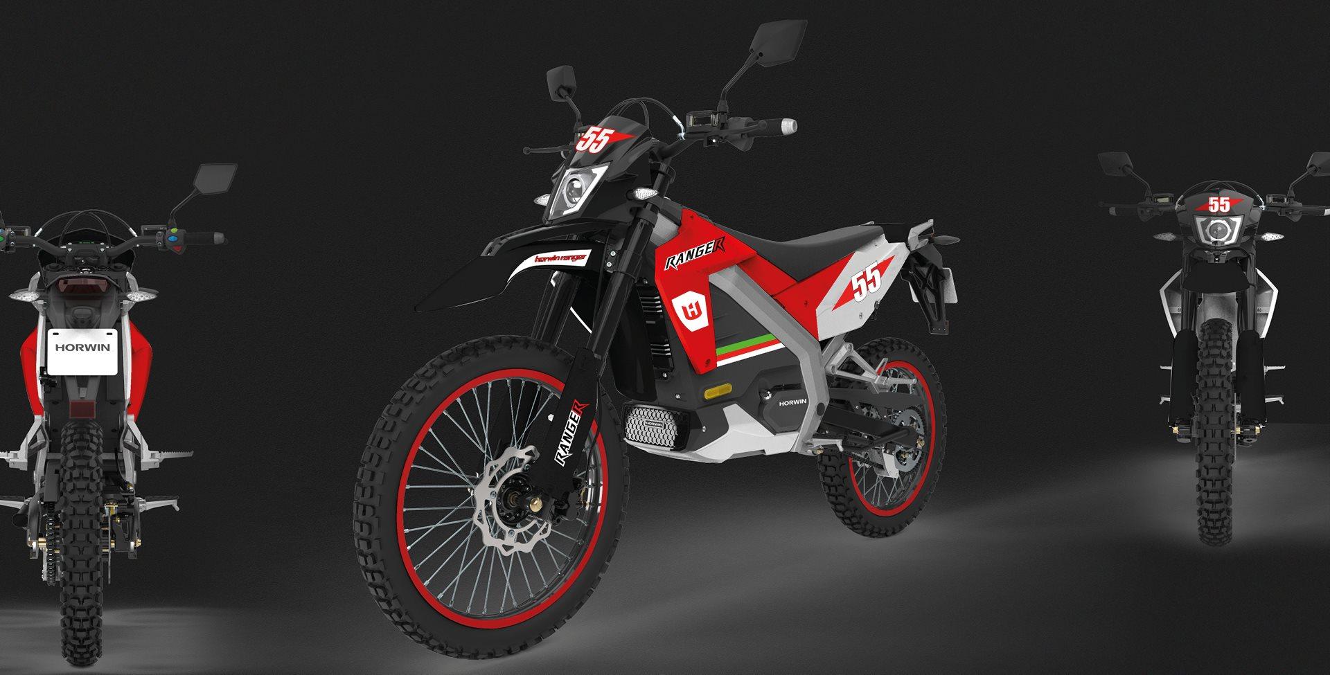 Horwin Ranger Street Motorrad, neu
