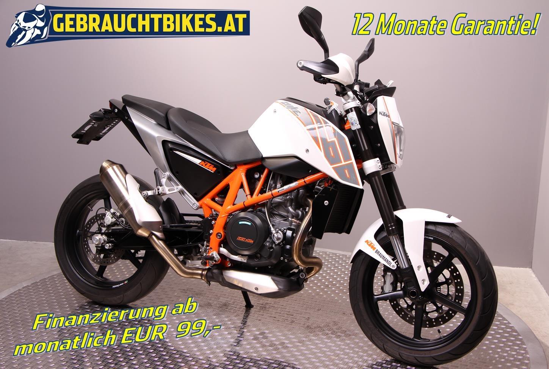 KTM 690 Duke Motorrad, gebraucht