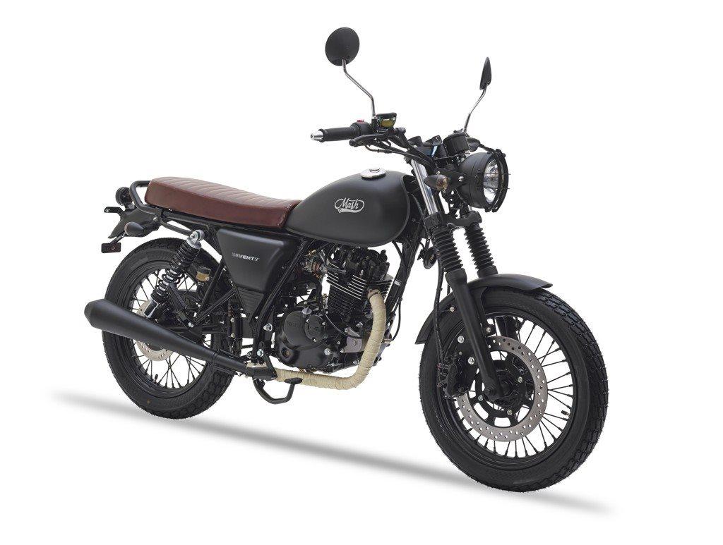 Mash Seventy Motorrad, neu