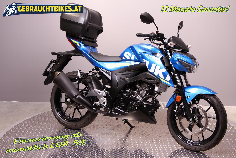 Suzuki GSX-S 125 Motorrad, gebraucht