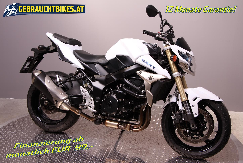 Suzuki GSR 750 Motorrad, gebraucht