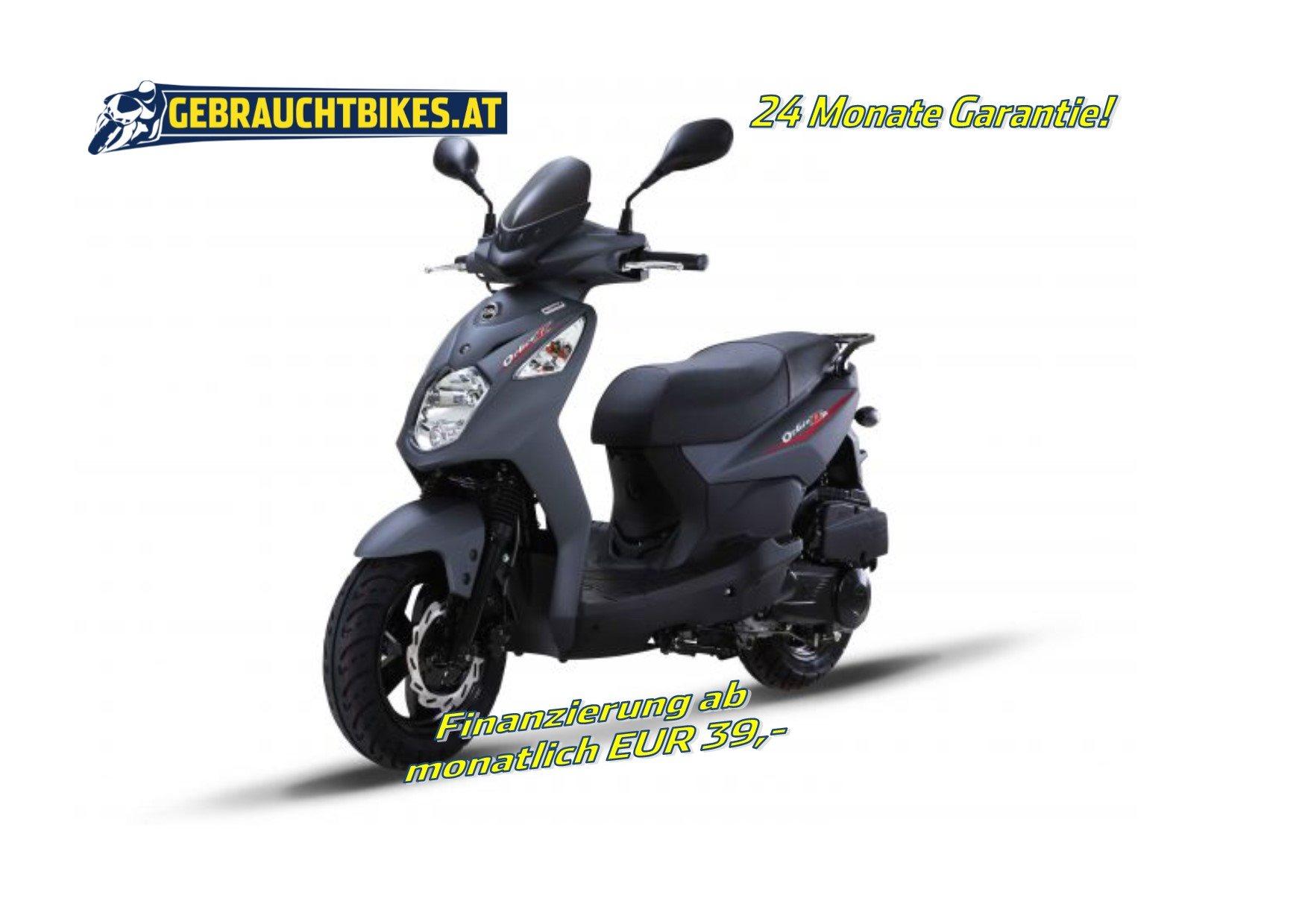 Sym Orbit II 125 Motorrad, neu