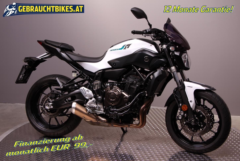 Yamaha MT-07 Motorrad, gebraucht