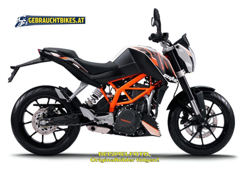 KTM 390 Duke Motorrad, gebraucht