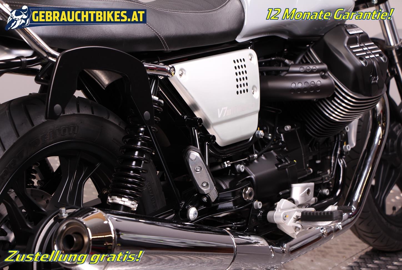 Moto Guzzi V7 III Milano Motorrad, gebraucht