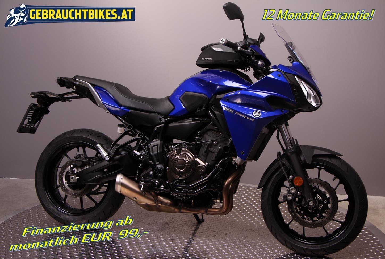 Yamaha Tracer 700 Motorrad, gebraucht