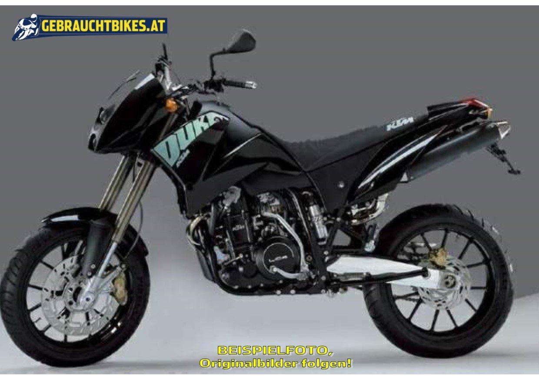 KTM 640 Duke 2 Motorrad, gebraucht