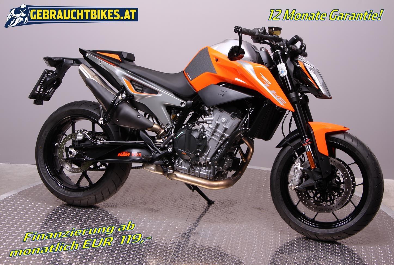 KTM 790 Duke Motorrad, gebraucht