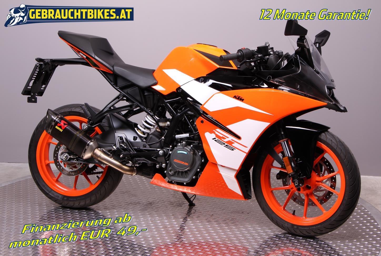 KTM RC 125 Motorrad, gebraucht