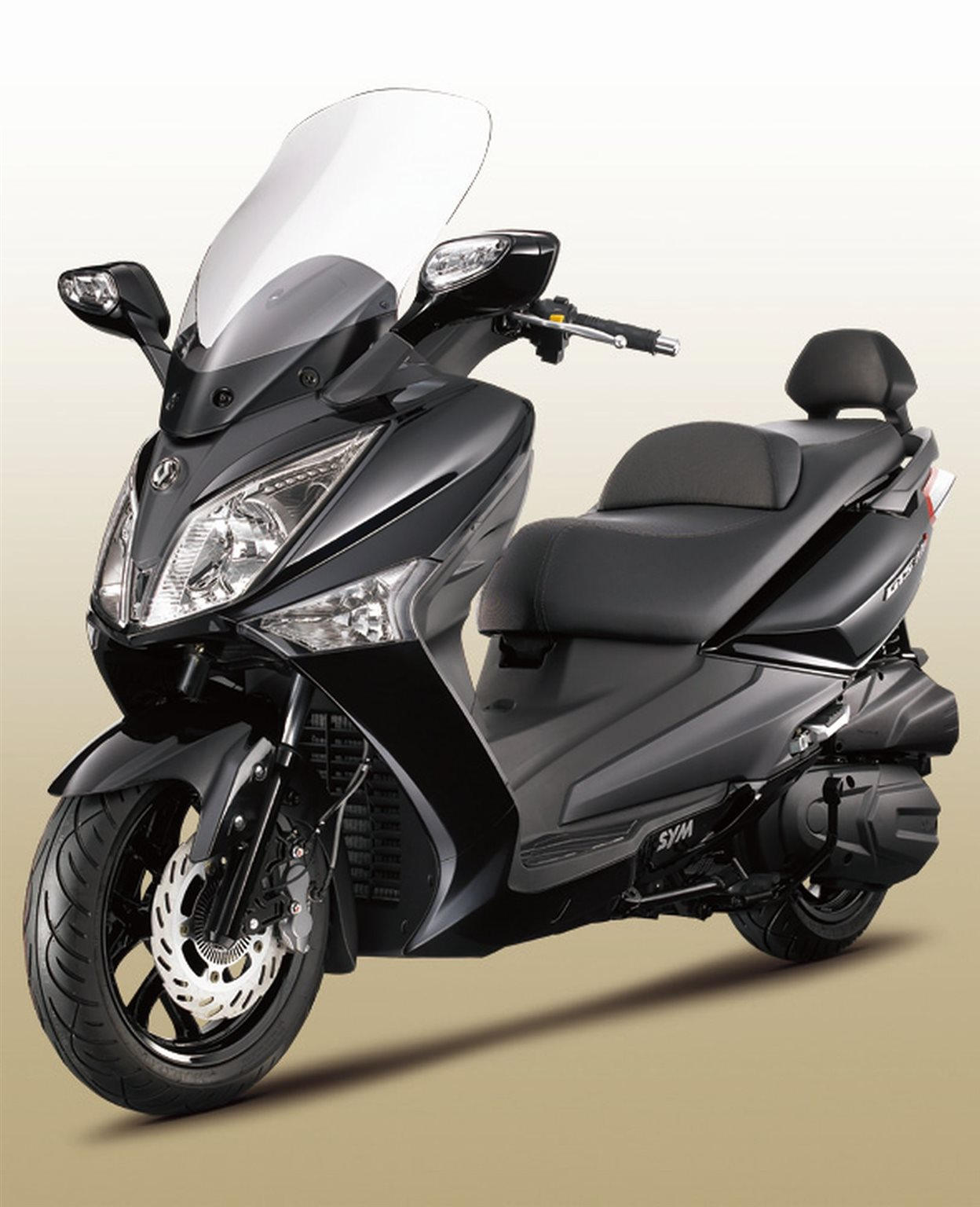 Sym GTS 300i Motorrad, neu