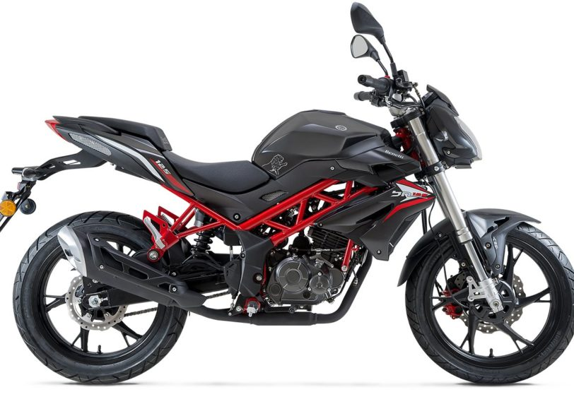 Benelli BN 125 Motorrad, neu