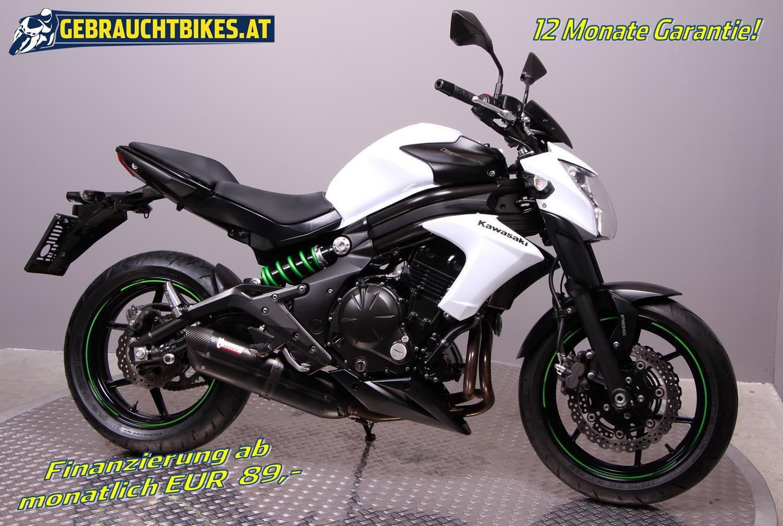 Kawasaki ER-6n Motorrad, gebraucht