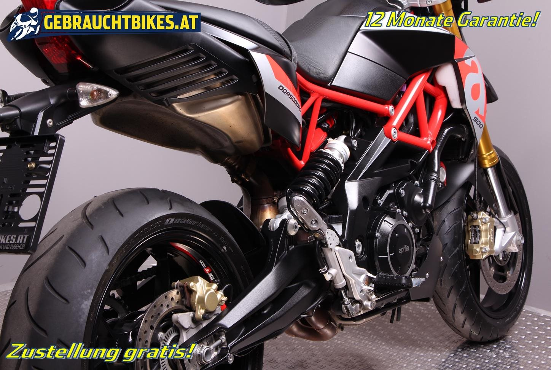 Aprilia Dorsoduro 900 Motorrad, gebraucht