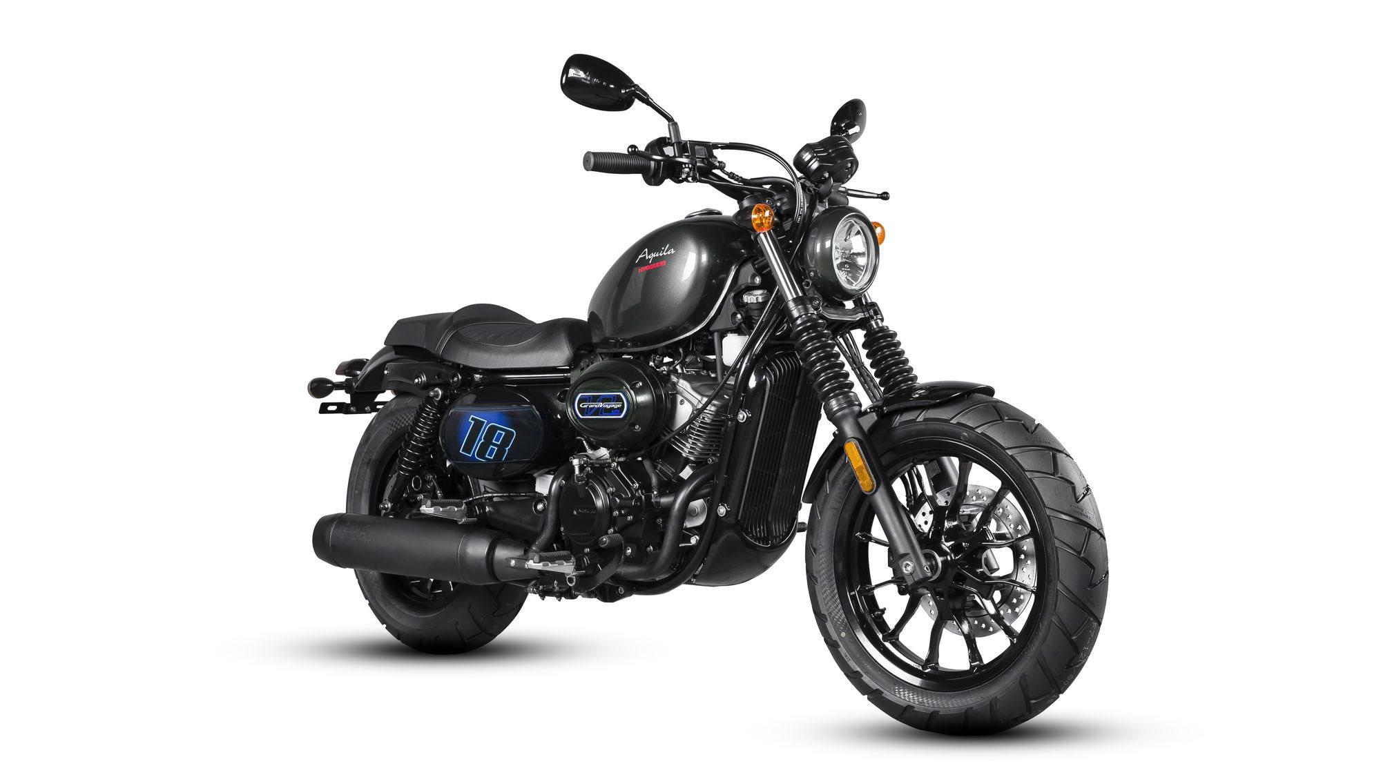 Hyosung Aquila GV 125 Cruiser Motorrad, neu