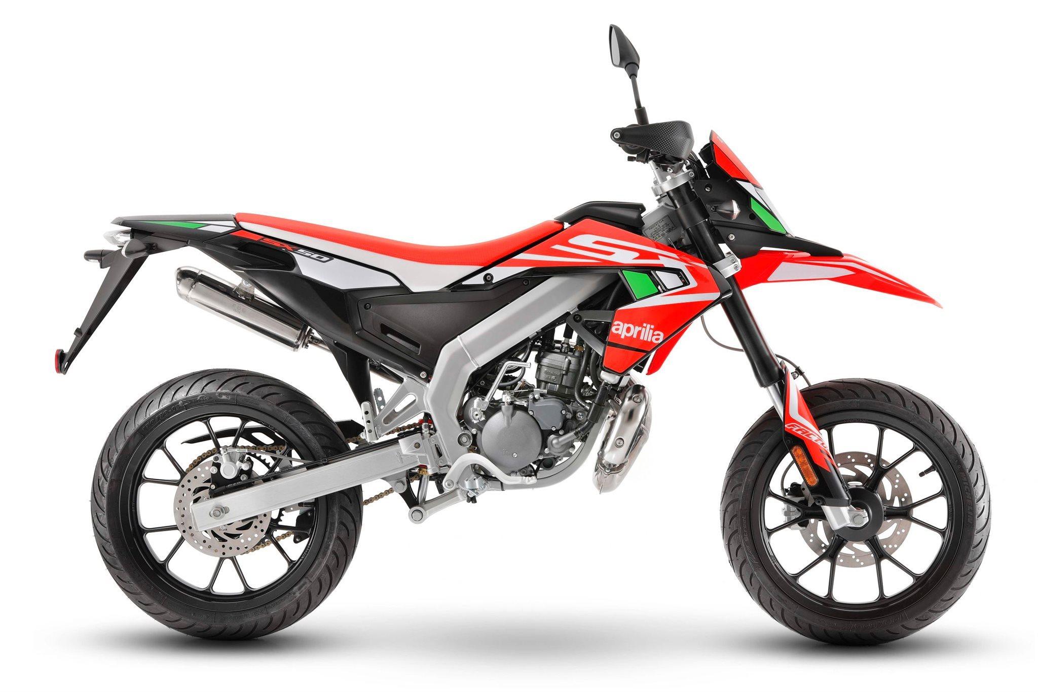 Aprilia SX 50 Supermoto Motorrad, neu
