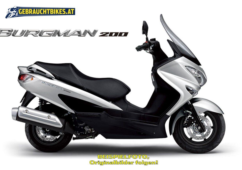 Suzuki Burgman 200 Motorrad, gebraucht