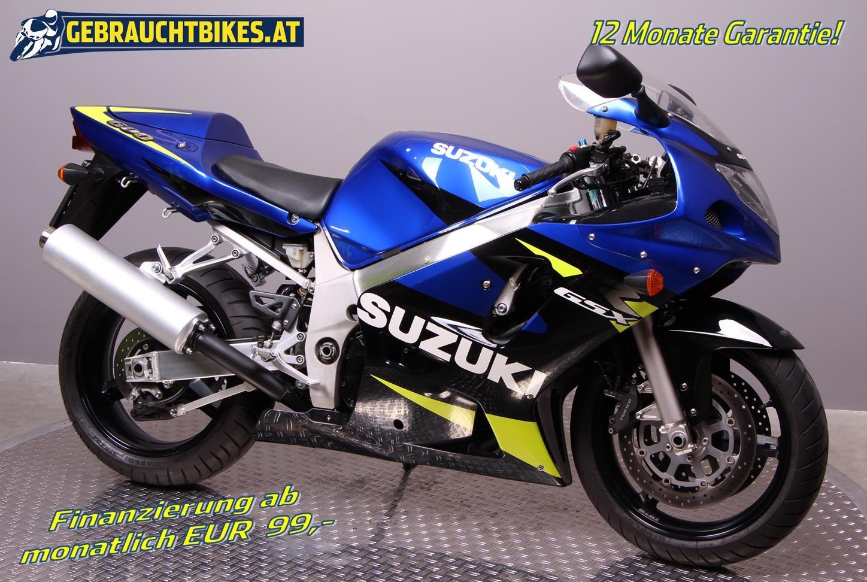 Suzuki GSX-R 600 Motorrad, gebraucht