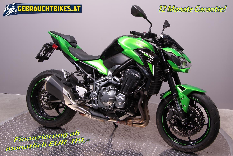 Kawasaki Z900 Motorrad, gebraucht