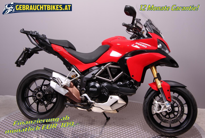 Ducati Multistrada 1200 S Touring Motorrad, gebraucht