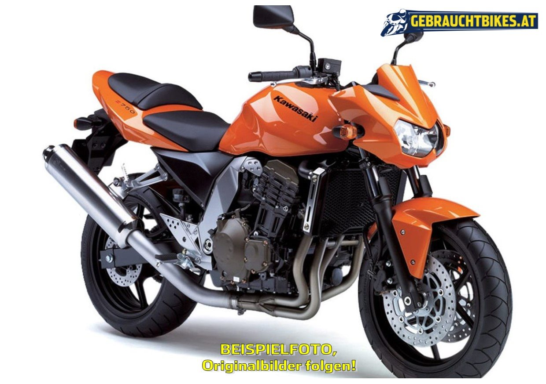 Kawasaki Z 750 Motorrad, gebraucht
