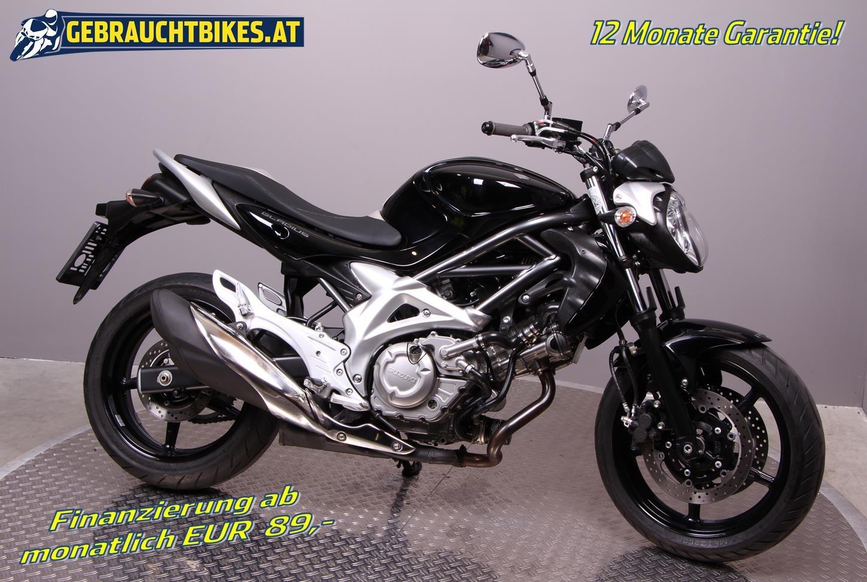 Suzuki SFV 650 Gladius Motorrad, gebraucht