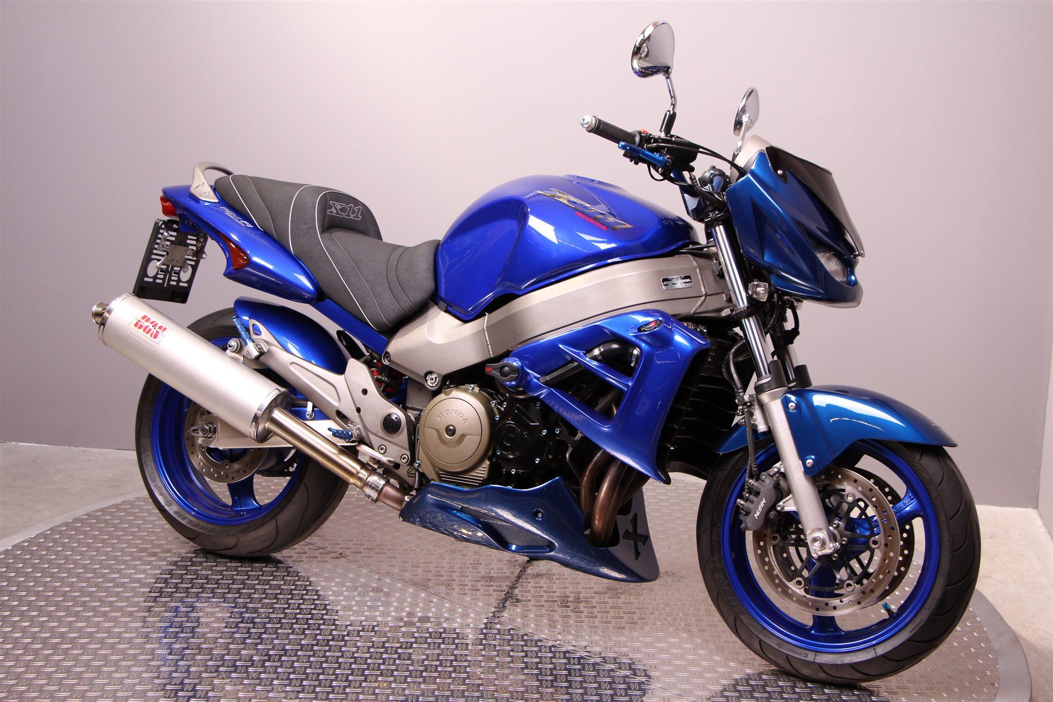 Honda X11 Motorrad, gebraucht