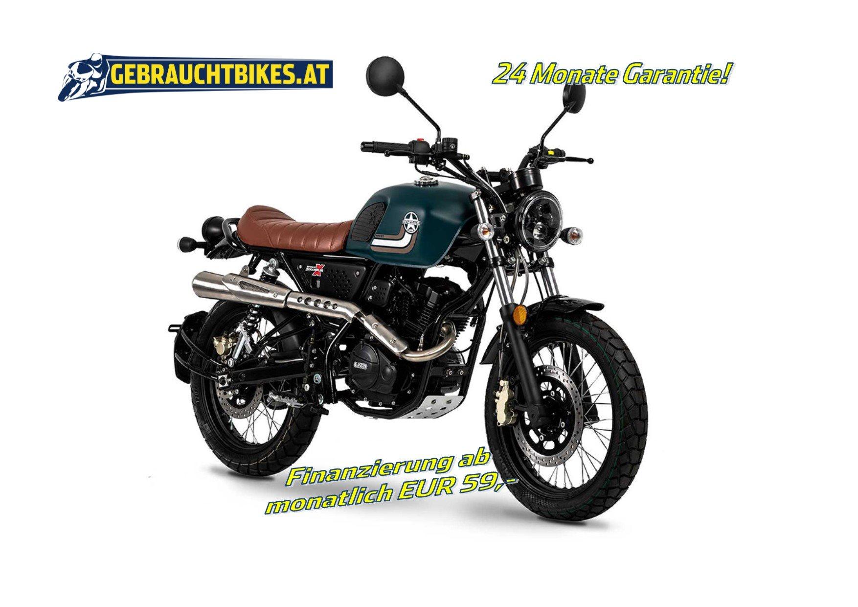 United Motors UM Scrambler X Naked 125 Motorrad, neu