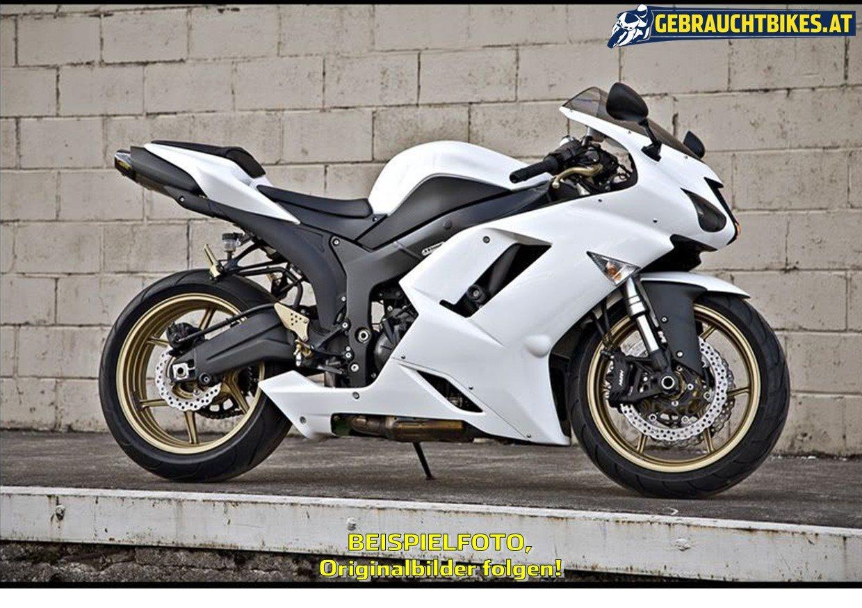 Kawasaki Ninja ZX-6R Motorrad, gebraucht