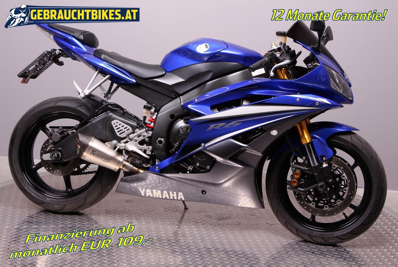 Yamaha YZF-R6 Motorrad, gebraucht