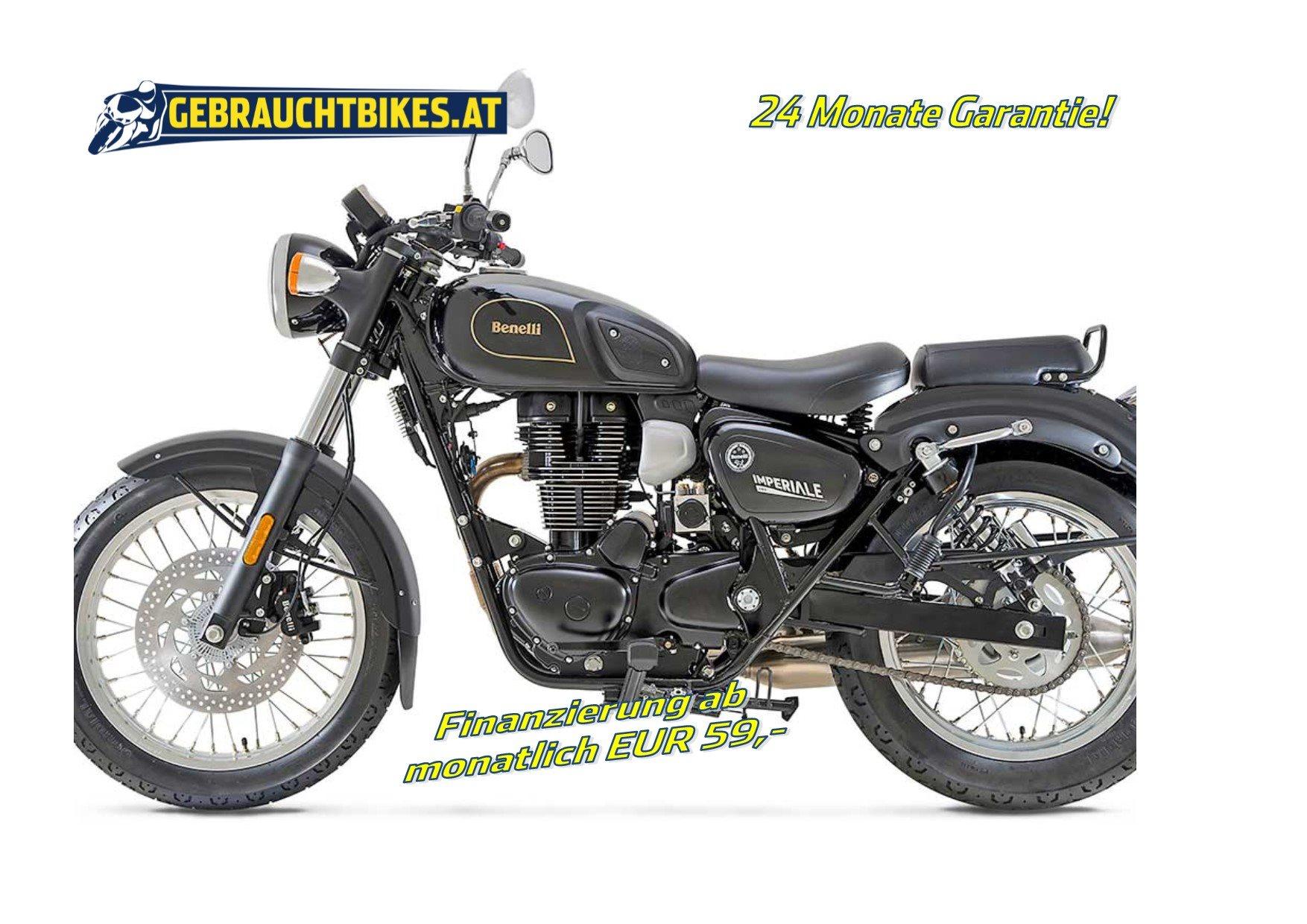 Benelli Imperiale 400 Motorrad, neu