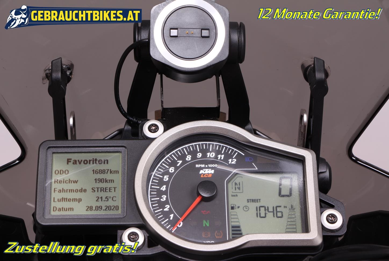 KTM 1050 Adventure Motorrad, gebraucht
