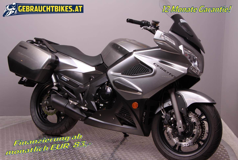 CF-Moto 650 TK Motorrad, gebraucht
