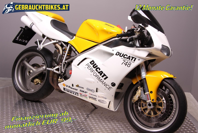 Ducati 748 Motorrad, gebraucht