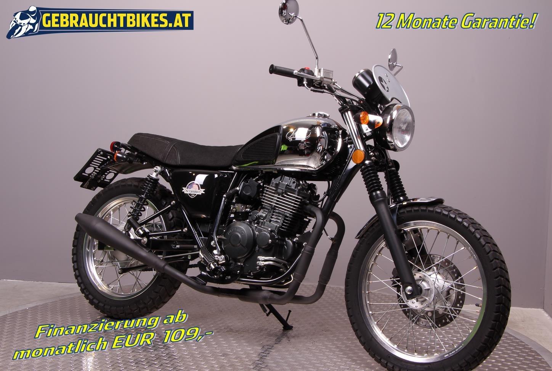 Mash Scrambler 400 Motorrad, gebraucht
