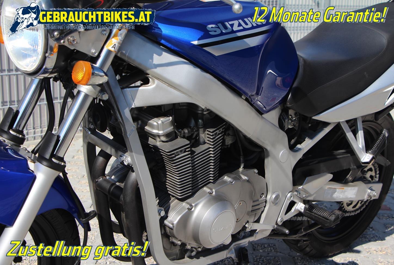 Suzuki GS 500 Motorrad, gebraucht