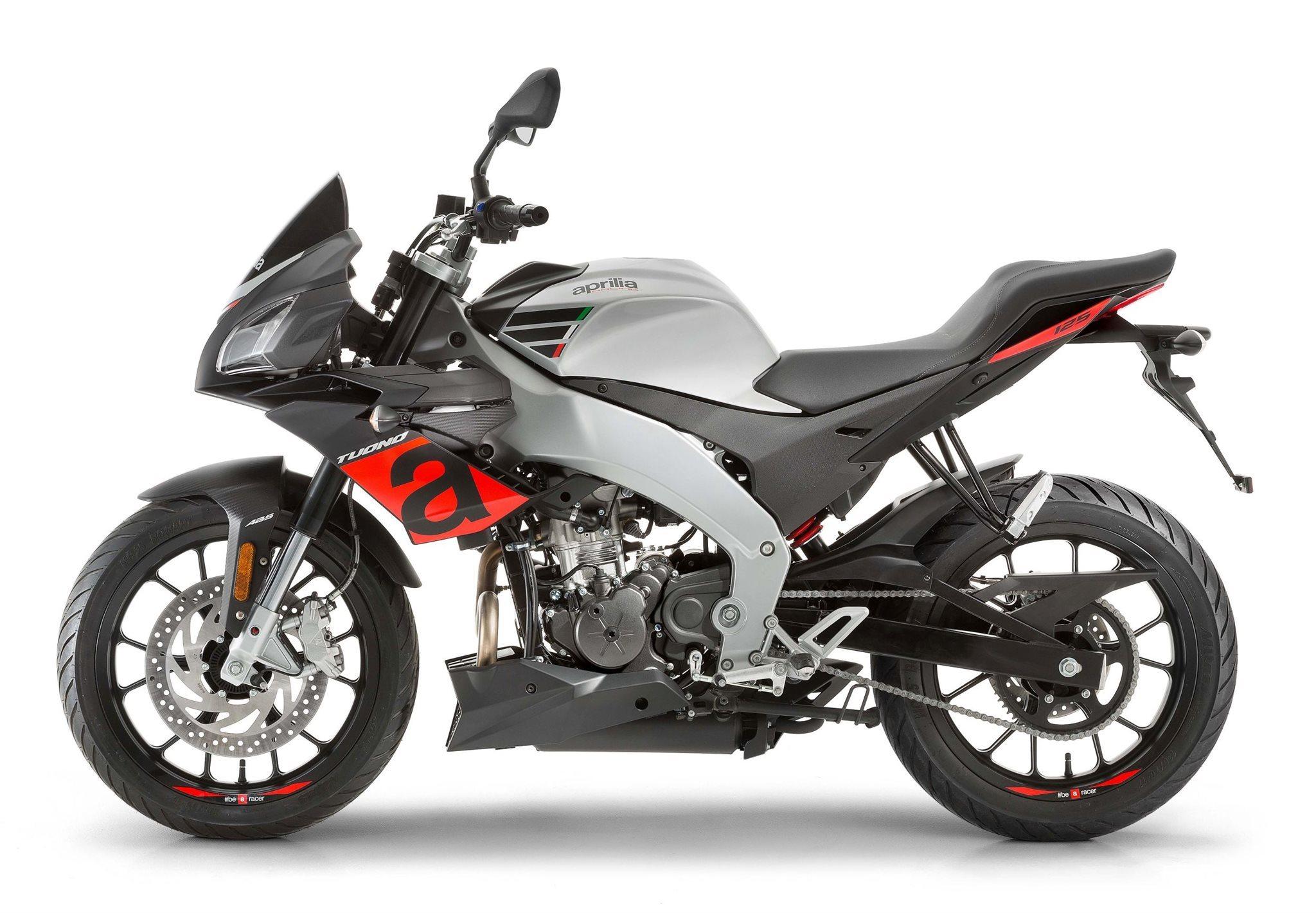 Aprilia Tuono 125 Motorrad, neu