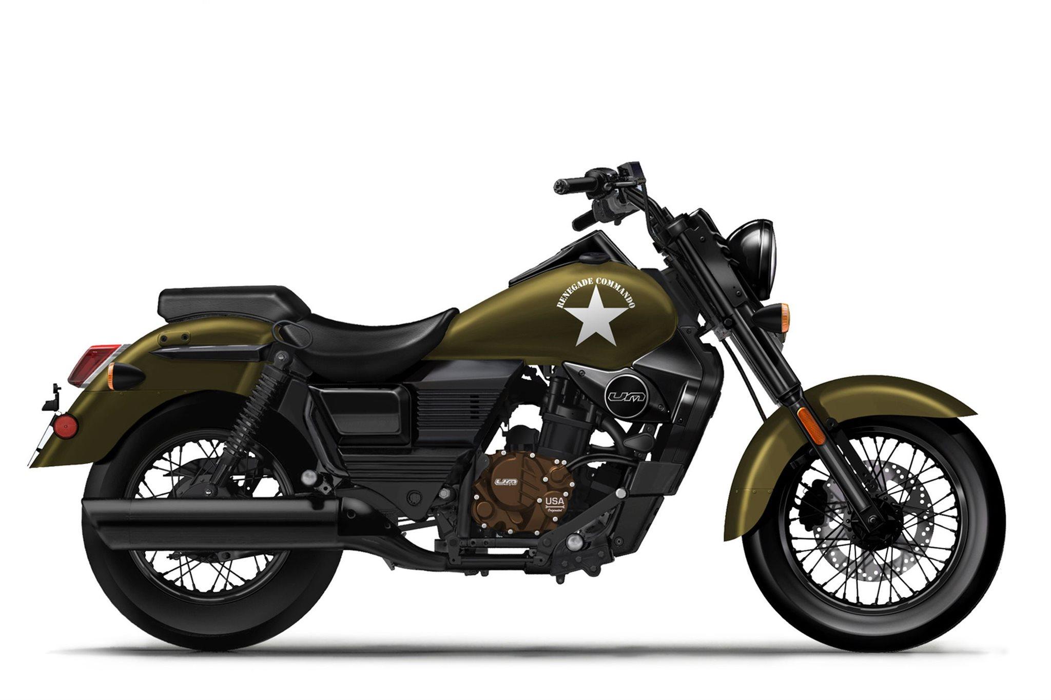 United Motors UM Renegade Commando 125 Motorrad, neu