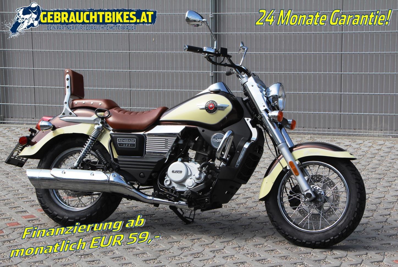 United Motors UM Renegade Commando Classic 125 Motorrad, neu