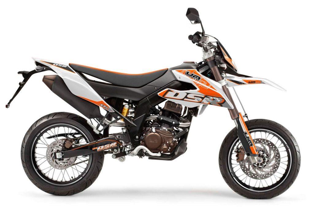 United Motors UM DSR SM 125 Motorrad, neu