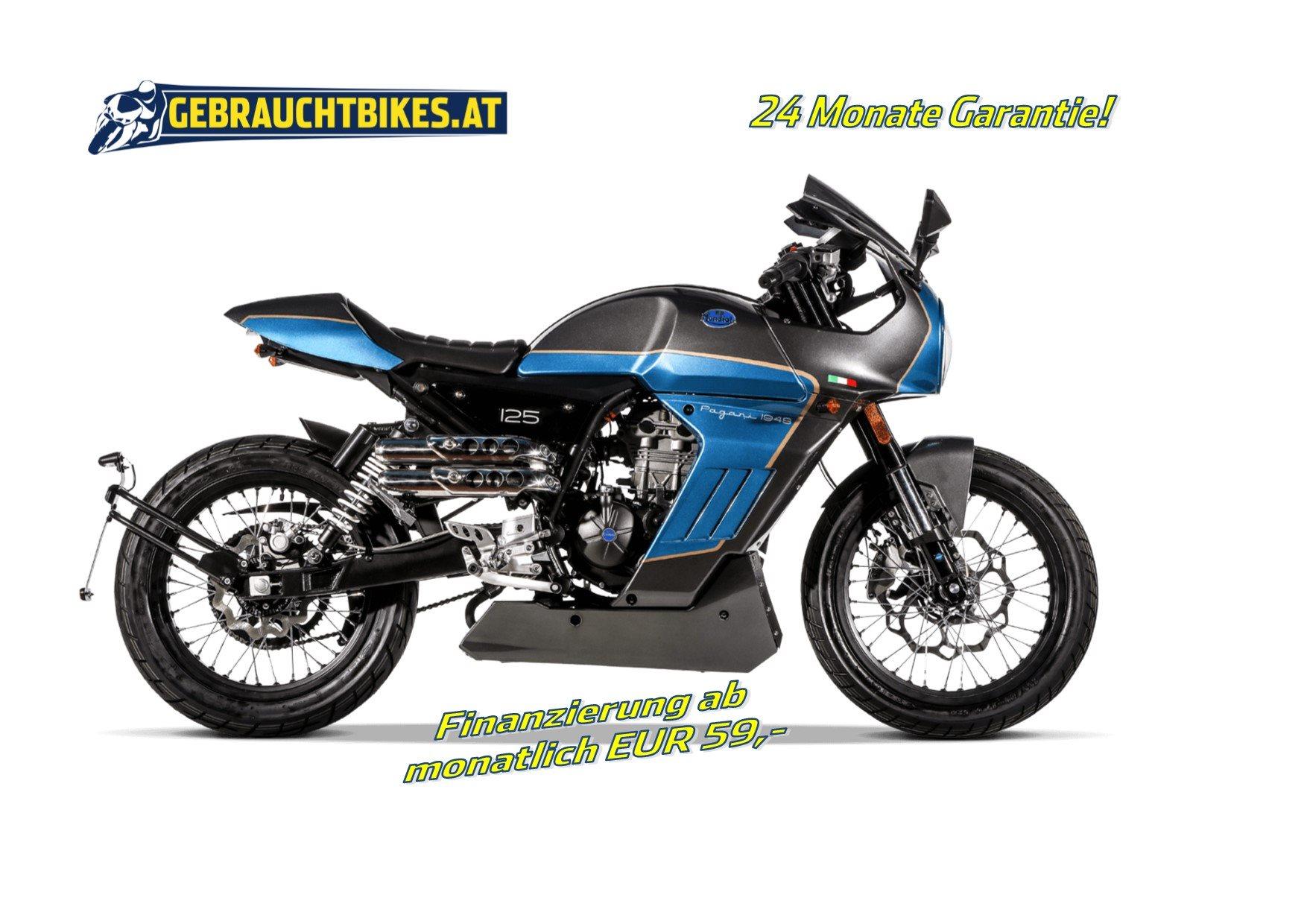 FB Mondial Sport Classic 125i ABS Motorrad, neu