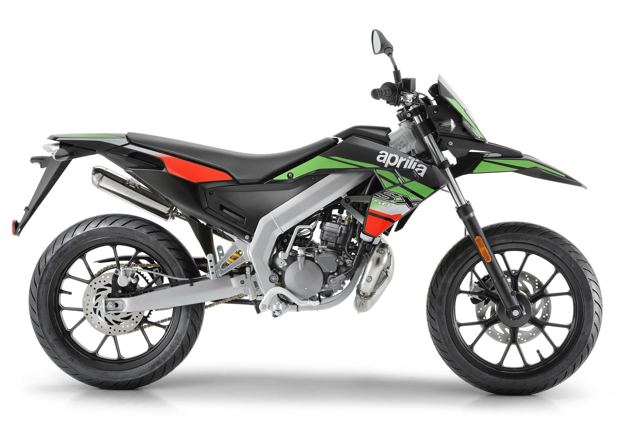 Aprilia SX 50 Supermoto Motorrad, gebraucht