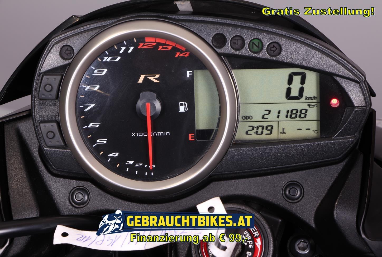Kawasaki Z 750R Motorrad, gebraucht
