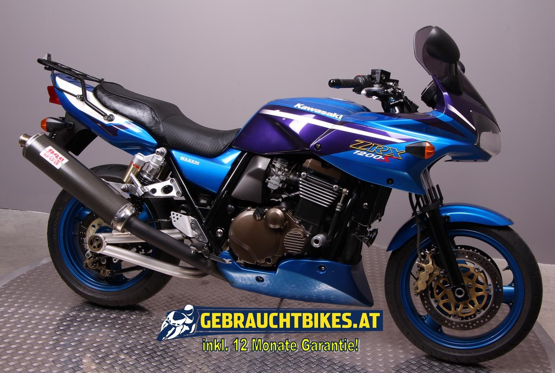 Kawasaki ZRX 1200 S Motorrad, gebraucht